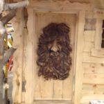 Carved Face Door